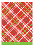 Christmas Plaid Photo Card