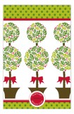 Christmas Topiary Invitation