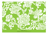 Classic Lime Textile Photo Card
