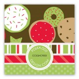 Cookie Display Gift Tag