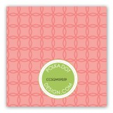 Coral Trellis Gift Tag