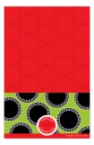 Dots on Green and Red Photo Card