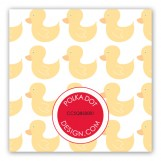 Ducky Emblem Gift Tag