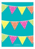 Fiesta Flag Banner Invitation
