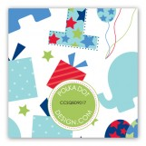 First Birthday Train Gift Tag