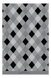 Fun Argyle Grad Grey