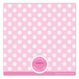 Girl Polka Dots Photo Card