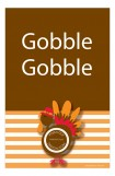 Gobble Gobble Photo Card