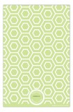 Green Hexagon Mosaic Photo Card