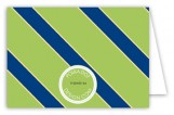 Green Oxford Folded Note Card