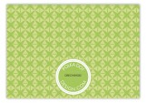 Green Sophisticate Enclosure Card