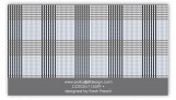 Grey Glen Plaid Calling Card