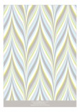 Groovy Pastel Stripes Photo Card