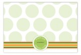 Harvest Banner Flat Note Card