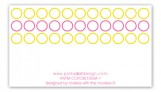 Hey Baby Pink Rectangular Gift Tag