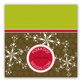 Hot Chocolate Snow Gift Tag