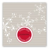 Light Snow Gift Tag
