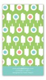 Lime Summer Pops Calling Card