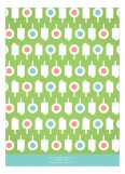 Lime Summer Pops Invitation