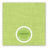 Linen Scrolls Green Gift Tag