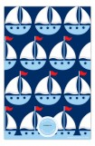 Little Blue Sailboat Photo Card