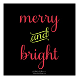 Merry Bright Lights Photo Card