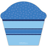 Mr Monogram Cupcake Invitation