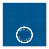 Navy Peace on Earth Gift Tag