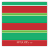 North Pole Greetings Gift Tag