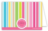 Party Stripe Note Card
