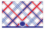 Patriotic Plaid Photo Card