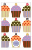 Pattern Cupcakes Invitation