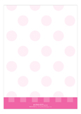 Perfect In Polka Dots Pink Photo Card