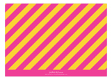 Pink and Gold Bravo Stripe Photo