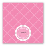 Pink Cross Pendant Gift Tag