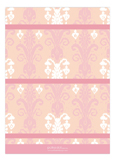 Pink Ikat Photo Card