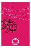 Pink Party Lights Invitation
