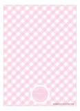 Pink Polka Dot Bunny Invitation