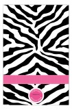 Pink Zebra Photo Card