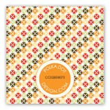 Pizza Pattern Gift Tag