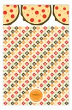 Pizza Party Pattern Photo Card