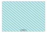 Pretty Packages Blue Horizontal Photo Card