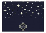 Starry Night Navy Photo Card