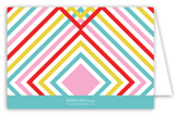 Summer Graphic Folded Note Card