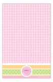 Sweet Gingham Girl Invitation