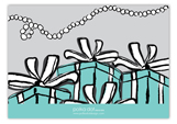 Tiffany Blue Enclosure Card