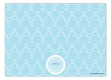 Tiffany Damask Invitation