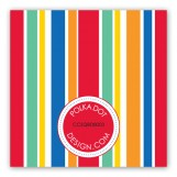 Turning One Primary Colors Gift Tag