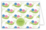 Twin Peapod Folded Note Card