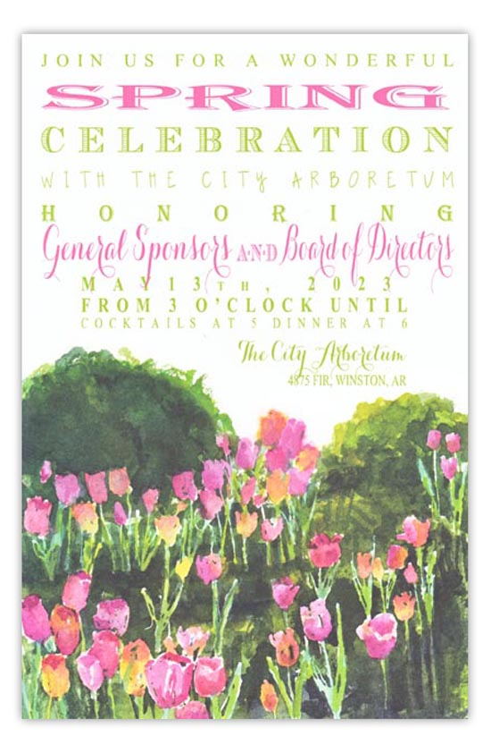 3A433-Tulips-amid-Box New Releases from Odd Balls Invitations in Pine Bluff, Arkansas